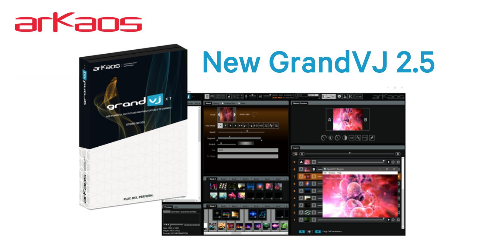 New GrandVJ 2.5 banner