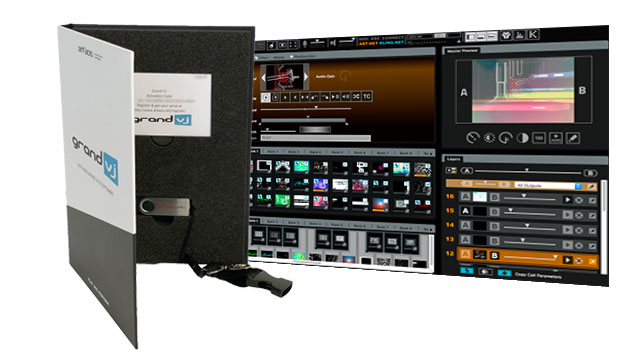 About GrandVJ - Eight channels VJ software for real time HD